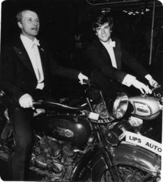 Hauer y Krabbé durante la première del film en Amsterdam
