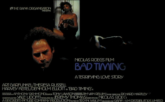 poster-w2 Nicolas Roeg Bad Timing DVD Review