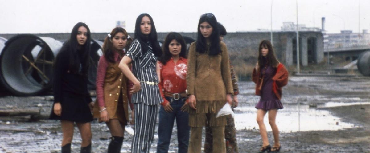 El Loco Mundo De Las J 243 Venes Stray Cat Rock Female Boss border=