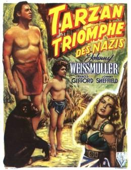 El triunfo de Tarzán. La película anti-nazi producida pro Sol Lesser en 1943