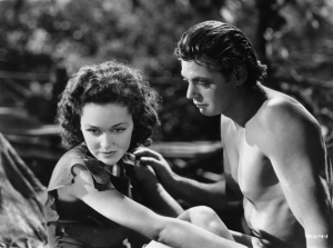 Maureen-OSullivan-Johnny-Weissmuller-Tarzan-Escapes-1936
