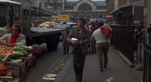 Jon Finch en el Londres de Frenesí.