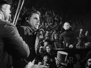 Richard Basehart como Robespierre en El reinado del terror (1948)