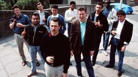 Gary Oldman en The Firma, Alan Clarke, 1988