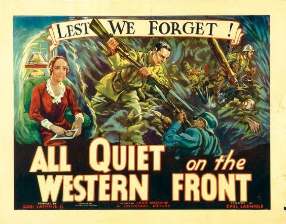 1930 All quiet on the western front - Sin novedad en el frente (ing) (hs) (ed 34) 01