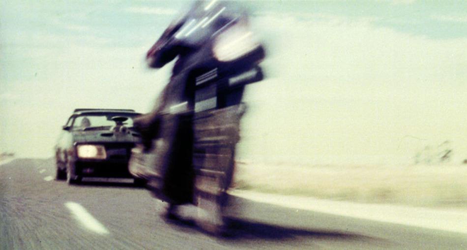 Mad Max (George Miller, 1979) para la portada