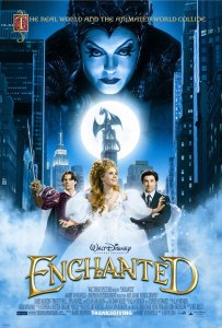 Enchanted movie poster onesheet