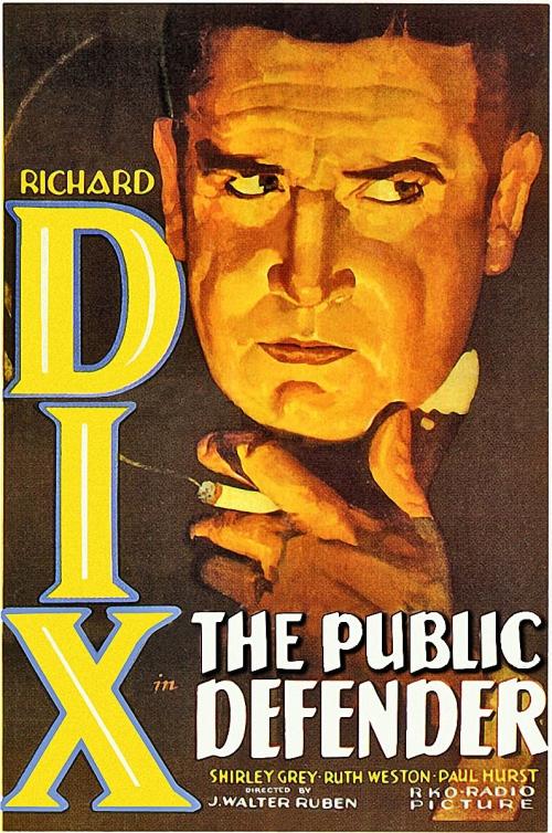 Poster - Public Defender, The (1931)_01