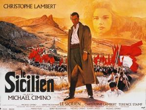LE SICILIEN De Michael CIMINO (1987) AFFICHE   AVEC Christophe LAMBERT
